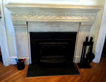 cast stone fireplace fireplacefacelifter.com boston and wakefield masonry marty hardiman Melrose MA concord ma fireplace andover fireplace