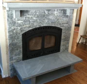 Concord MA fireplace
