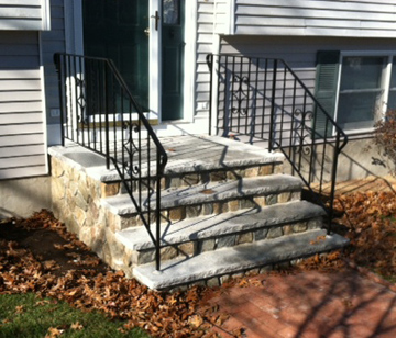 Before And After Stone And Brick Repair Melrose Malden